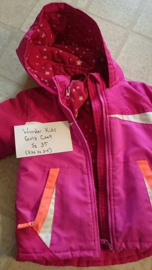 Wonder Kids Girl's Coat Sz 3T for Sale in McLeansville, NC