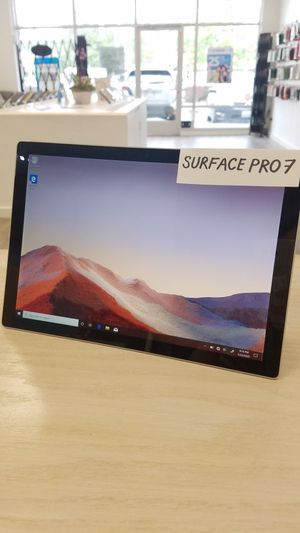 Microsoft Surface Pro 7 10TH core I5 8GB RAM 128GB SSD for Sale in Renton, WA