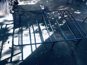 Folding Metal Bed Frame - Full for Sale in Los Angeles, CA