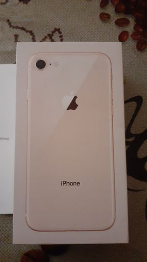 iPhone 8 rose gold box for Sale in San Antonio, TX
