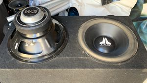 """12"""" JL Audio Double Coil Subwoofers 🔊 for Sale in Fontana, CA"""