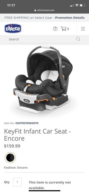 Chicco, KeyFit, Encore Car Seat and Base for Sale in Philadelphia, PA