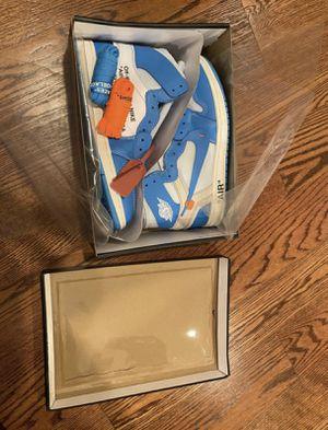 Jordan 1 Off-White University Blue for Sale in Millstone, NJ