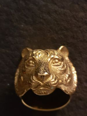 Gold toned metal tiger ring! for Sale in Rancho Cucamonga, CA