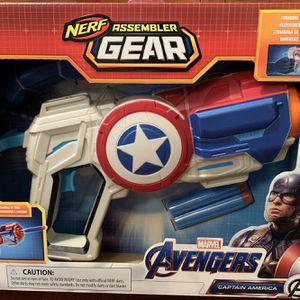 Captain America Nerf Gun for Sale in Hamburg, NY