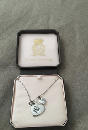 Juicy Couture charm Necklace for Sale in Salinas, CA