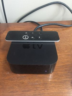 4th Generation Apple TV w/ Touch Remote for Sale in Wilmington, NC