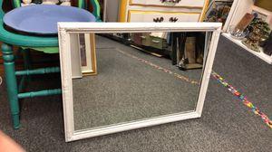 White Wall Mirror for Sale in Farmington Hills, MI