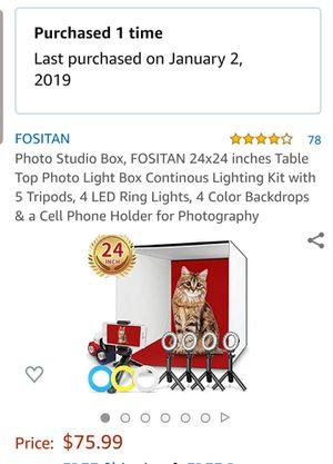 Fositan Photo Studio Box for Sale in Princeton, MN