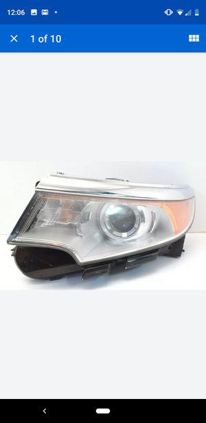 2012 Ford Edge headlamp headlight left driver housing genuine OEM BT4Z 1300 8K for Sale in Hampstead, NC