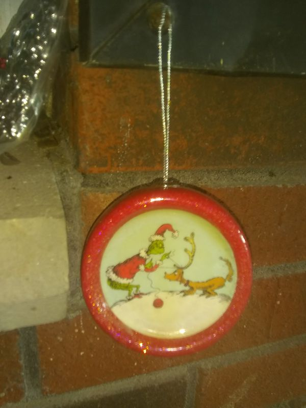 Vintage ~collectors edition ~ the Grinch ~Chtistmas ornanent~