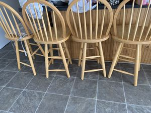 For real nice barstools hundred bucks get them all for Sale in Fort Washington, MD