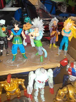 Dragon ball Super- Z fighter figurine set for Sale in Los Angeles, CA