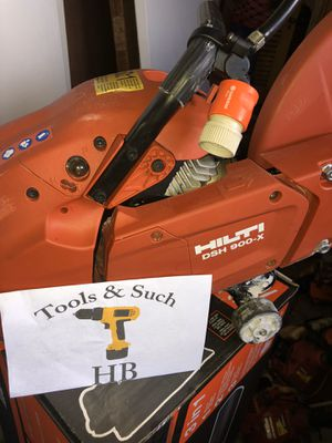 Hilti DSH 900-X Gas Saw (No Blades) for Sale in Miami, FL