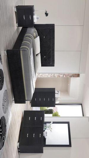 [CLEARANCE] Brahma Black Panel Bedroom Set | BR1235 for Sale in Austin, TX