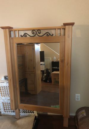 Mirror with matching headboard for Sale in Payson, AZ