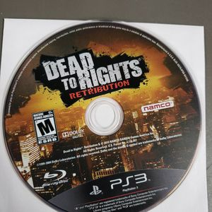 Dead To Rights Retribution Ps3 for Sale in Grafton, WI