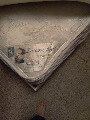 Twin bed Frame, mattress box spring desk for kids TV dresser all that for $160 for Sale in Bentonville, AR