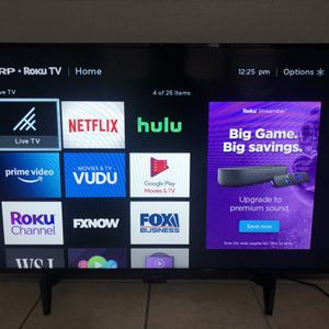 "Sharp 50"" Roku TV Smart for Sale in Arlington, TX"
