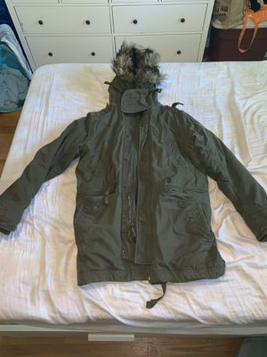 Abercrombie parka size medium for Sale in Silver Spring, MD