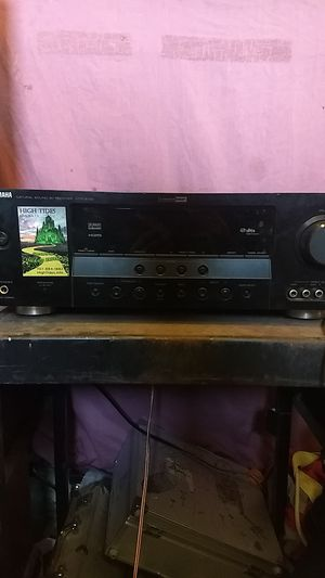 Yamaha home stereo receiver for Sale in HILLTOP MALL, CA
