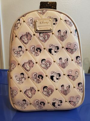 Disney Loungefly Princess Couples Mini Backpack for Sale in Rowland Heights, CA