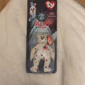 Glory The Bear Original Beanie Baby for Sale in Tampa, FL