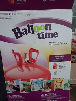 Jumbo balloon time. Used once. for Sale in Denver, CO