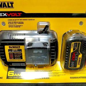DeWalt 6.0 Ah Flexvolt 60v Battery With 6amp Charger for Sale in Houston, TX