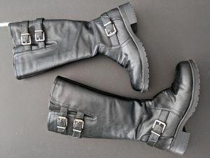 Fergalicious black tall boots for Sale in Smyrna, TN
