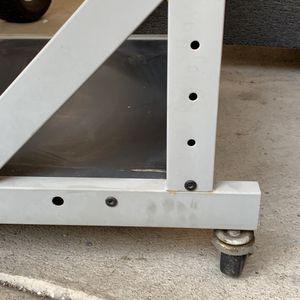 Metal Rack , Shelves Or Computer Desk for Sale in Westminster, CA