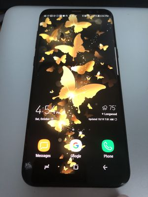 Samsung Galaxy S8 Plus, comes with charger and a case for Sale in Longwood, FL