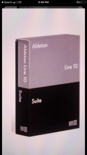 aBleton live 10 pc or mac for Sale in Harrisburg, PA