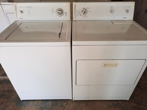 Washer and gas dryer set kenmores for Sale in Pumpkin Center, CA