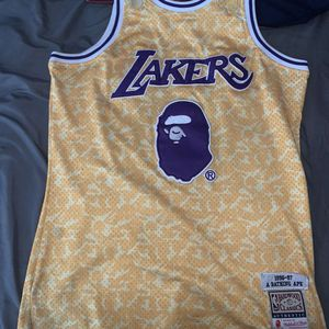 Bape lakers jersey for Sale in Millbury, MA