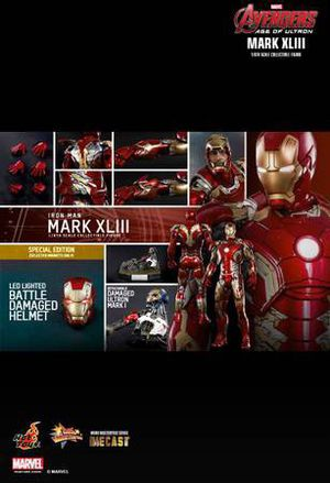 Hot toys iron man mark 43 diecast figure for Sale in Austin, TX
