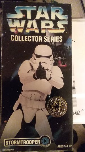 Kenner star wars collector series 1996 12in Stormtrooper for Sale in Salt Lake City, UT