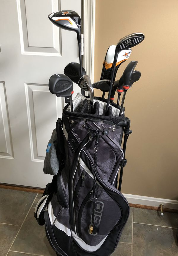Complete Callaway X2 Hot golf club set