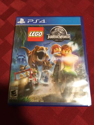 PS4 Jurassic World New never used for Sale in Anchorage, AK