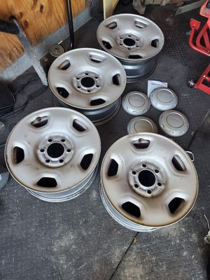 Ford 6 lug wheels. Good condition. for Sale in Garland, TX