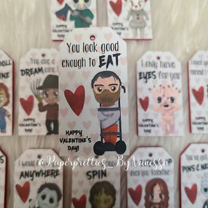 Horror Movie Valentine Gift Tags for Sale in El Monte, CA