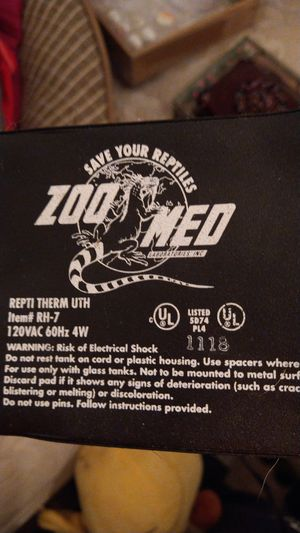 Reptile hear pad for Sale in Philadelphia, PA