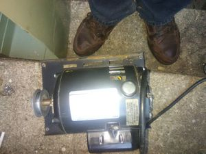 Crafstman 1/2 hp motor with poly for Sale in Silver Spring, MD