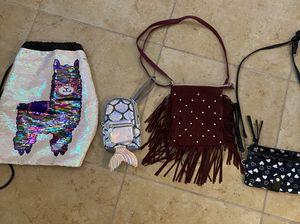Girls purse lot - 4 bags for Sale in Surprise, AZ