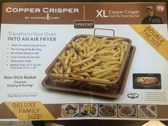 XL Copper Crisper Oven Air Fyer Pan Set for Sale in Silver Spring,  MD