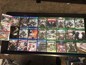 PS4, Xbox , Nintendo 3Ds video games for Sale in Everett, WA