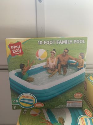 *NEW* PLAYDAY 10FT FAMILY POOL - IN HAND for Sale in Garden Grove, CA