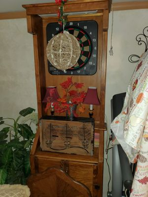 Handmade dartboard cabinet for Sale in Rockford, IL