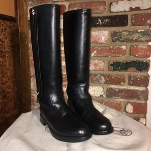 """Hermes Black Leather """"Land Boots"""" sz 39 for Sale in SEATTLE, WA"""