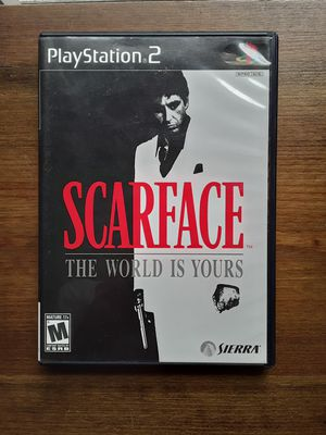 Scareface for Ps2 for Sale in Antioch, CA